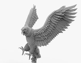 3D printable model Hawk Eagle Hunting