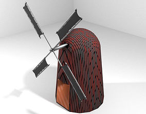 Windmill - Type 3 3D model