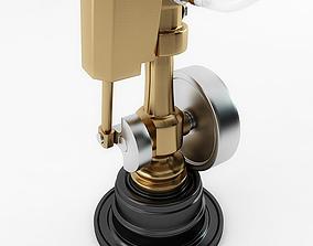3D Miniature Wobble Steam Engine