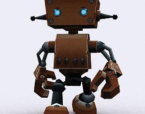 animated 3DRT Chibii-robot 08