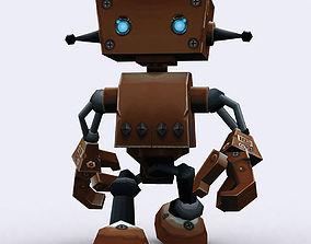 3DRT Chibii-robot 08 animated