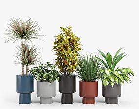 3D Bishop Indoor Outdoor Pedestal Planters