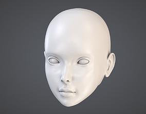 Doll Head Kit 3D printable model