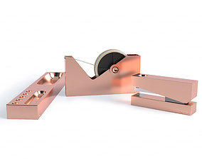 3D model TomDixon Copper Office Accessories