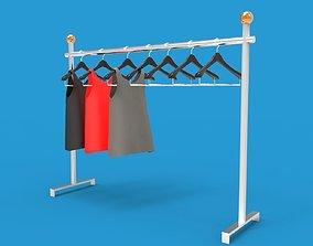 3D asset Hanger Rack