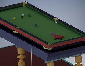 3D model Snooker Mini table