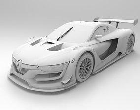 Renault Sport R S 3D model low-poly