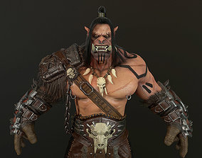 3D asset ORC warlord