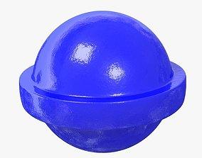 blue Candy Sucker 3D