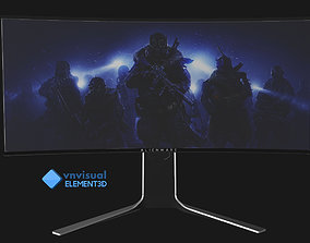 E3D - Dell Reveals Alienware 34 Curved Monitor