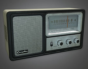 Old Radio Antiques - PBR Game Ready 3D asset