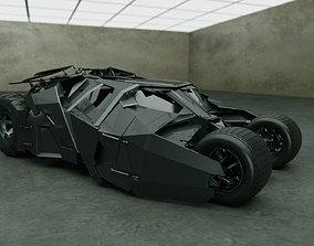 3D vehicle Batmobile
