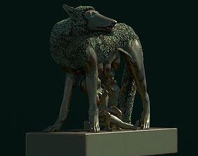 3D asset Lupa Capitolina