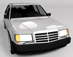 MERCEDES W124 LOWPOLY 3D model