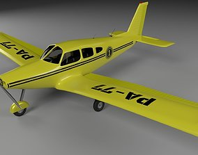 3D airplane Airplane Piper