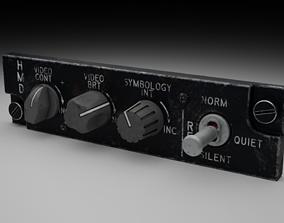 3D F16 HMD Panel