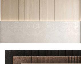 3D model Decorative wall panel set 42