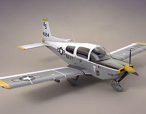 U-5B Grumman Tiger Search and Rescue 3D asset