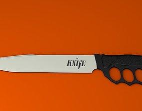 3D asset Nuckle Knife