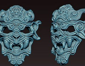 3D print model Decorative mask