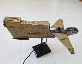 3D print model Star Wars - Hounds Tooth Ship Bossk Bounty