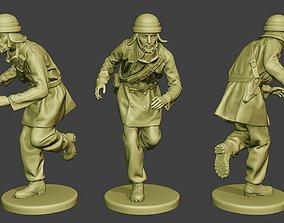 3D print model Italian Tank Crew Unit ww2 Run ITCU1
