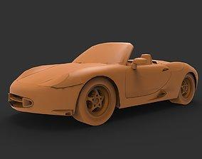 3D print model Porsche Boxster GTS