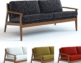 3D West Elm - Mathias Loveseat