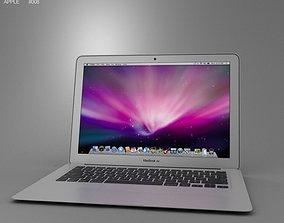 3D model Apple MacBook Air 13 inch 2012