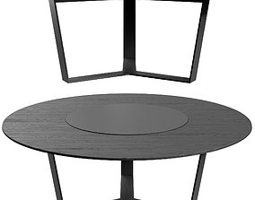 Pero Round Table By More Moebel 3D model