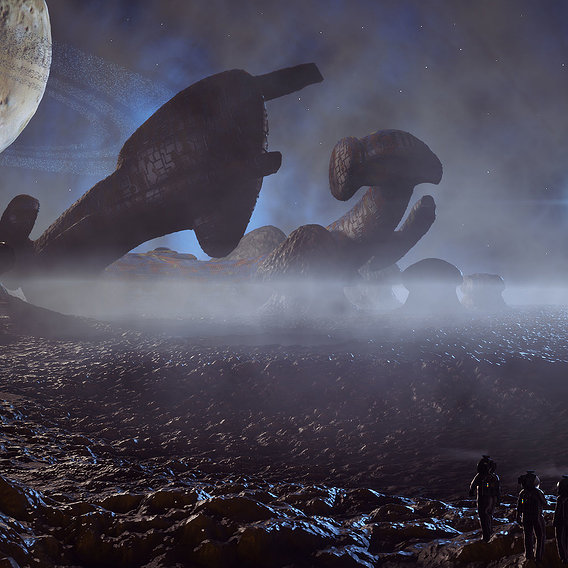 Alien Derelict
