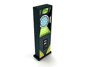 Arcade Dart Machine 3D
