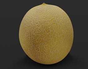 3D asset Galia Melon