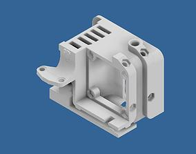 ENDER 3 EXTRUDER COVER WITH COOLING 3D printable model 4