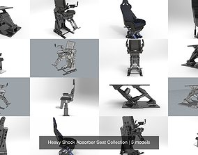 3D Heavy Shock Absorber Seat Collection