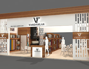 Exhibition Stand business show 3D