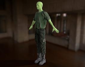 Clothing Set 9 3D asset