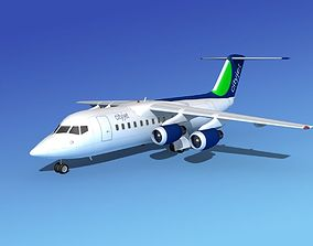 BAe 146-200 CityJet 3D model
