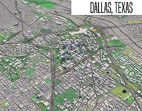 Dallas Texas 3D