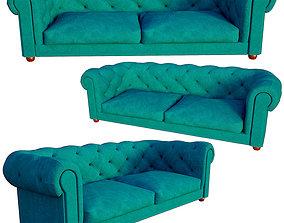 VR / AR ready sofa 3D model