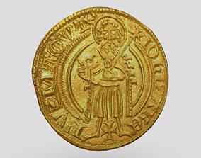 Gold Coin 3 3D