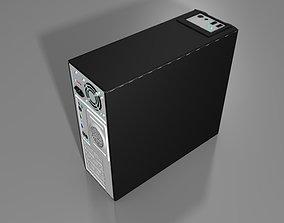 3D asset Computer Case - Old