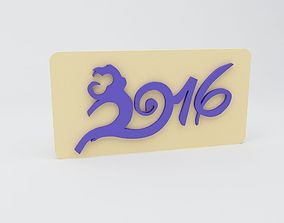 3D printable model new Year of the Monkey