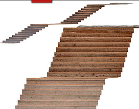 Stairs 10 3D model
