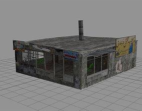 3D asset Arab City Building - Building B