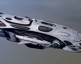 Anunaki Deep Space Patrol obj 3D model