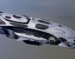 Anunaki Deep Space Patrol obj 3D model