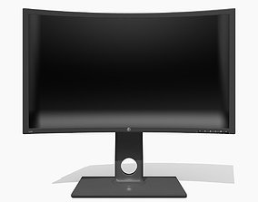 electronics 3D model Generic Monitor