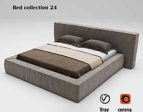 Bed collection 24 3D model