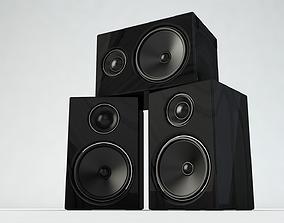 3D model PBR Speaker